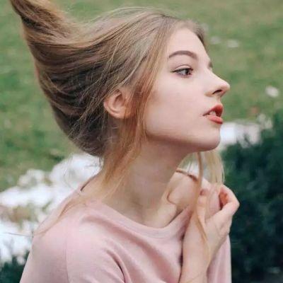 唯美外国女生头像 女生唯美手绘图头像